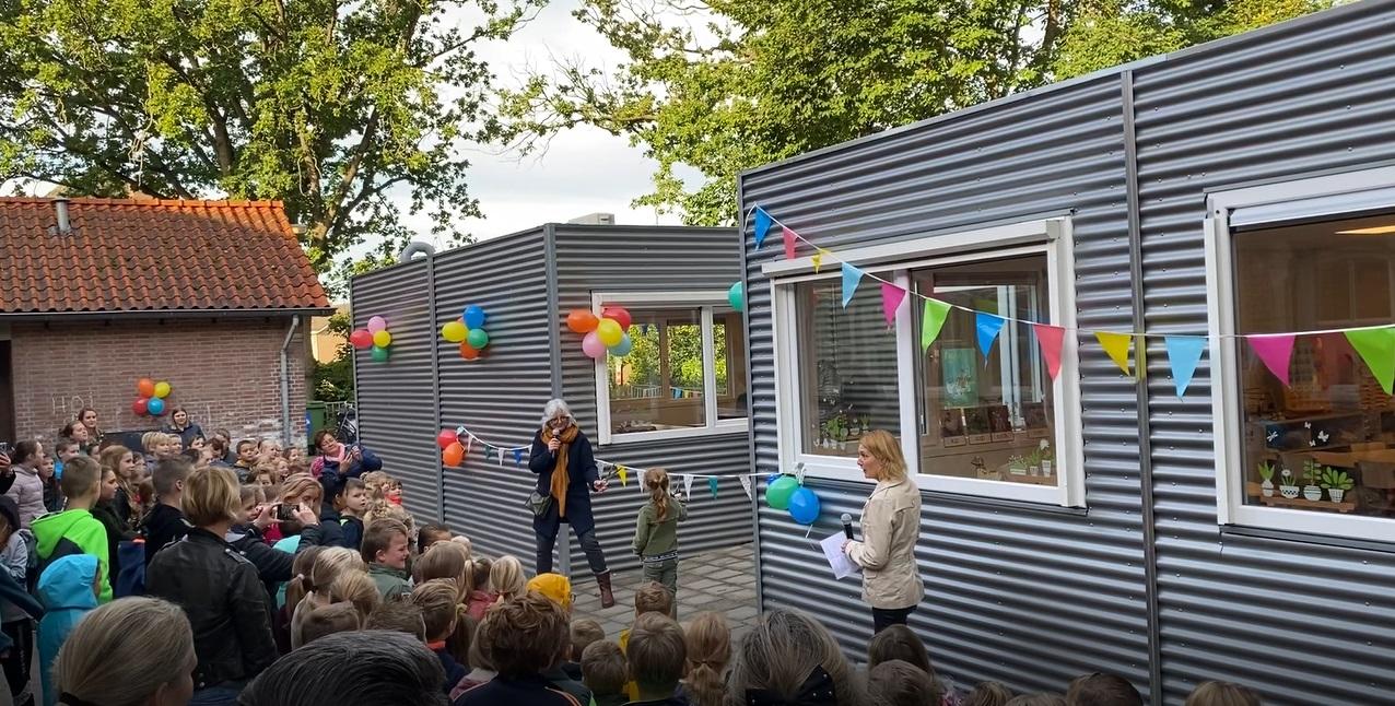 Tijdelijke-huisvesting-basisschool-Sint-Martinus-Dommelen-onderwijs-onderwijshuisvesting-Laride